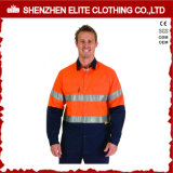 ANSI Wholesale High Visibility Long Sleeve Reflective Shirt