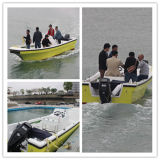 6.8m High Quality Model Fiberglass Fishing Boats with 6 Person