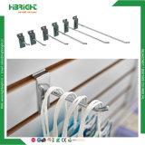 Retail Supermarket Metal Wire Chrome Slatwall Hook