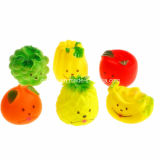Wholesale Vinyl Angry Vegetables Pet Chew Toy