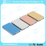 8000mAh Portable Charger Rectangle Leather Striae Power Bank (ZYF8068)