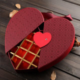 Custom Paper Fancy Chocolate Boxes Wholesale Heart Shape with Lock