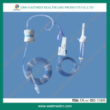 Dehp-Free Disposable Infusion Set/IV Giving Set with Flow Regulator