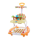 Unique Design Rocking Horse Baby Walker with Roof