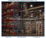 Heavy Duty Push Back Pallet Shelving for Warehouse Storage System