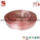 18AWG Red Line High Quality Transparent Speaker Cable