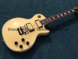 Lp Style Electric Guitar in Cream with Floyd Rose (GLP-438)