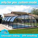 Retractable Pool Enclosure for Swimming Pool (Model Luxury)