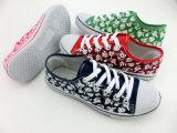 Latest Women Floral Print Cloth Shoes Canvas Shoes (HH150512 (3)