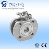 Italy Wafer Type Ball Valve with ISO Pad Q71f
