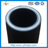 Four Wire Steel Spiraled Hydraulic Rubber Hose Tube