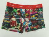 Cotton Aop Reactive Print Men′s Boxer Short Underwear