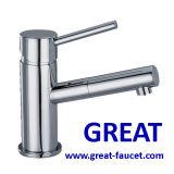 Single Lever Brass Washbasin Faucet