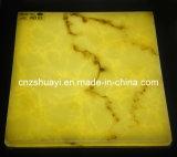 Decorating Artificial Translucent Resin Panel for Interior Decoration Materials