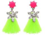 Fashion Shou*Rouk Style Diamond with Tassel Earring (XER13042)