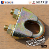 Yellow Zinc Plated Galv Malleable DIN1142 Wire Rope Clip