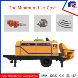 Pully Manufacture Diesel Portable Cement Pump (HBT50.10.75RS)