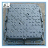 Anti-Theft D400 Ductile Iron Manhole Cover with Hinge and Lock