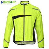 3 Layer Laminated Fabric Bicycle Jacket with Waterproof and Breathable