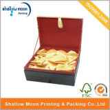 High-End Holiday Top Selling Gift Packaging Box with PU Cover (AZ121907)