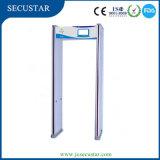 LCD Door Frame Metal Detector with Weatherproof Feature