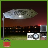Outdoor Aluminium Side Post Patio Umbrella with LED Light