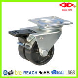 Swivel Locking Double Wheel Caster (P190-30B050X17DS)