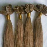 Flat-Tip Pre-Bonded Human Hair Extension/Keratin Hair Extension