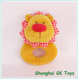 Cute Colorful Baby Toys Lion Rattle