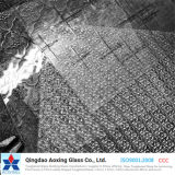Clear Flora Patterned Glass with Good Price