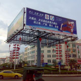 Four Face Outdoor Advertising LED Rotating Trivision Billboard