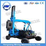 Safety Galvanized Steel Highway Guardrail H Beam Post Mounted Pile Driver
