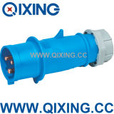 Nylon IEC IP44 220V Industrial Plug and Socket (QX248)