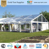 18mx25m Wedding Marquee with Transparent Roof and Clear Wall (PF18)