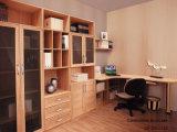 Modern Wood Grain Melamine Office Bookcase (SG11143)