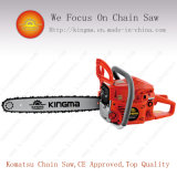52cc Gasoline Chain Saw with Magnesuim Alloy Crankcase Body