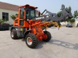 CE Articulated 1.5 Ton Mini Wheel Loader (HQ915) with SGS