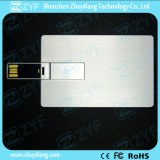 Aluminum Card USB Flash Drive with Full Color Printing (ZYF1148)