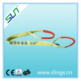 Double Layer Safety Factor 5: 1 3tx3m 100% Polyester Lifting Product