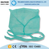 Disposable Safety Non Woven Doctor Cap with Tie on