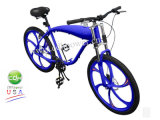 Bicycle with Mag Wheel and Gas Tank Built Frame