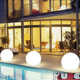Lighted Inflatable Plastic LED Light Balls Glow in Dark with Battery