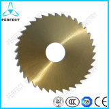 Tin Coated HSS Dmo5 Round Saw Blade for Cutting Iron
