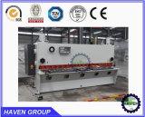 Hydraulic sheet metal shear, sheet shear, steel plate shear