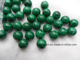 Malachite Loose Beads with Half Whole for Jewelry