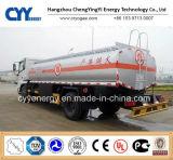 New China LNG Liquid Oxygen Nitrogen Lar Tank Car Semi Trailer