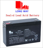 6V12ah Sealed Rechargeable Power Solar UPS Battery