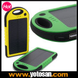 5000mAh Solar Portable Rechargeable USB Power Bank External Battery Charger Pack