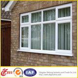 Aluminum UPVC Glass Casement Window with AS/NZS2208