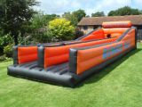 Double Lanes Inflatable Bungee Run for Adult